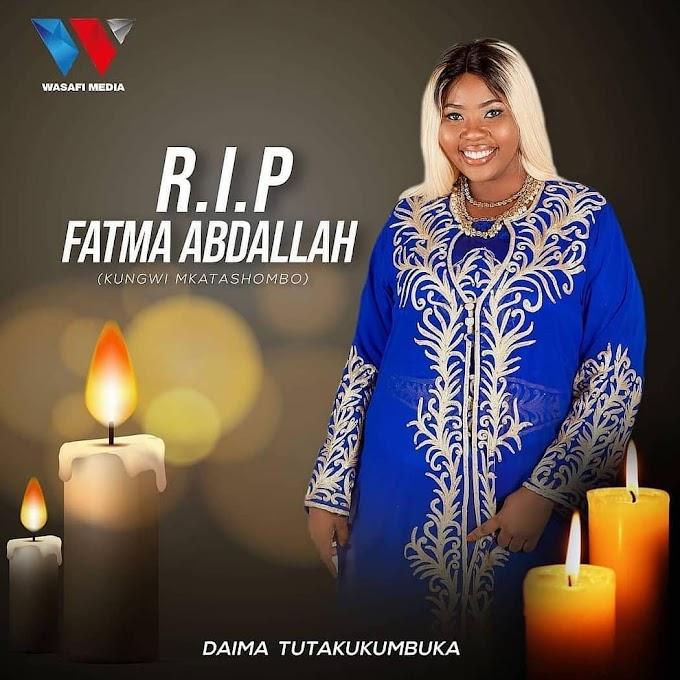 Rest in Paradise Fatma.... Daima tutakukumbuka