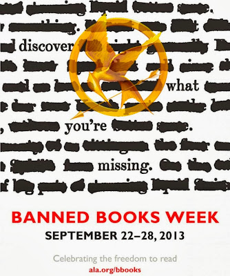 #BannedBooksWeek Activities and Resources on Hunger Games Lessons