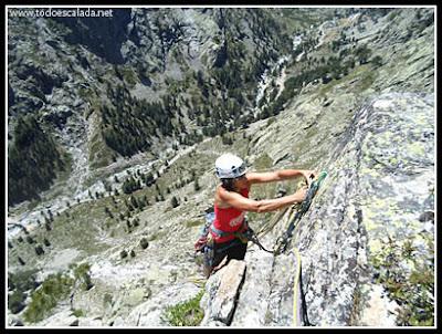 Córcega, Restonica, escalada