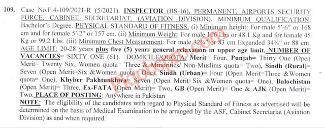 ASF Inspector Jobs