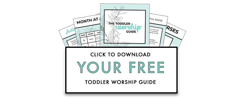 Family Devotional Guide for Toddlers