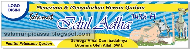 Desain Spanduk Idul Adha 1438 H Vector CDR | Tempatnya ...