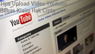 Tips menghindari klaim copyright video youtube
