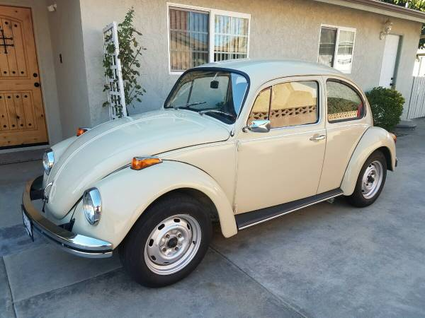 1972 Volkswagen Bug Full Restoration