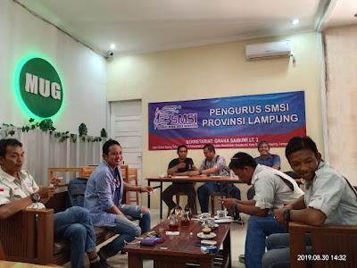 SMSI Lampung Gelar Rakor
