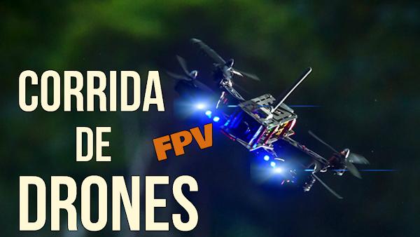 Corrida de Drones em FPV