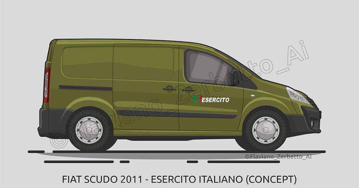 kombit1 fiat scudo 2011 esercito italiano. Black Bedroom Furniture Sets. Home Design Ideas