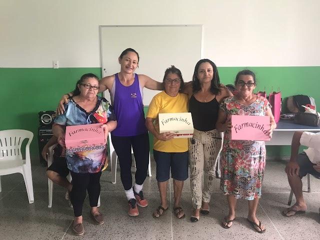 Grupo de Zumba e o Grupo da Melhor Idade participaram de Atividades oferecidas pelo CRAS