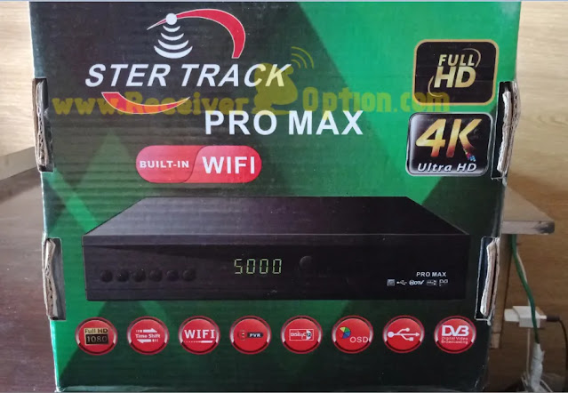 STER TRACK PRO MAX 1506LV 1G 8M BUILT IN WIFI NEW SOFTWARE WITH ECAST & DOLBY AUDIO OK 29 OCTOBER 2020