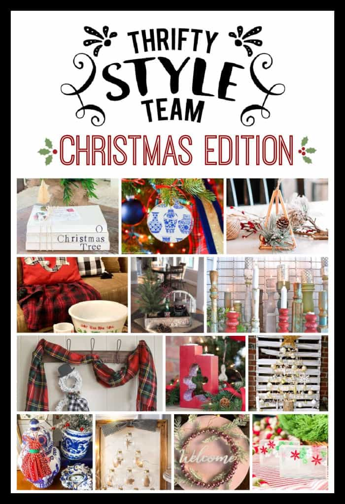 Thrifty Style Team November Christmas projects and craft ideas