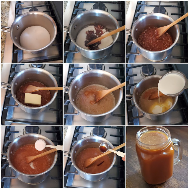 images of Homemade Salted Caramel Recipe / Easy Salted Caramel Sauce / Salted Caramel Sauce