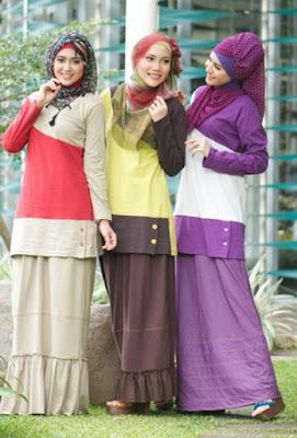 Fashion Hijab Untuk Orang Pendek 5