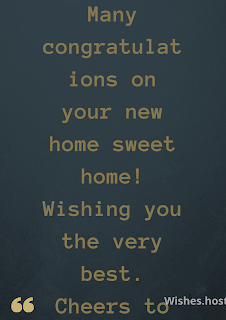 new home wishes