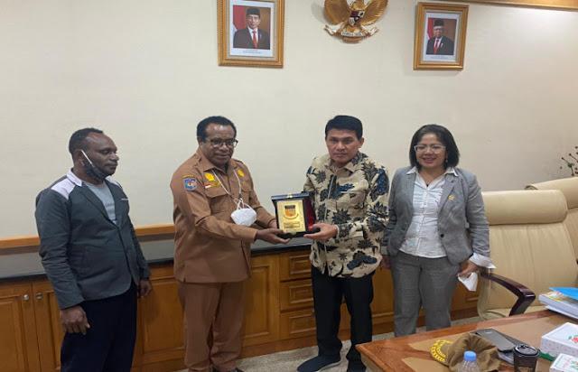 Djafar Alkatiri Sebut Alasan Utama DPD RI Dorong Revisi UU Otsus Papua.lelemuku.com.jpg