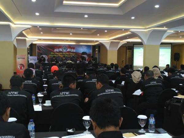 Rakornas Pusat I APPMI di Hotel Papandayan, Bandung