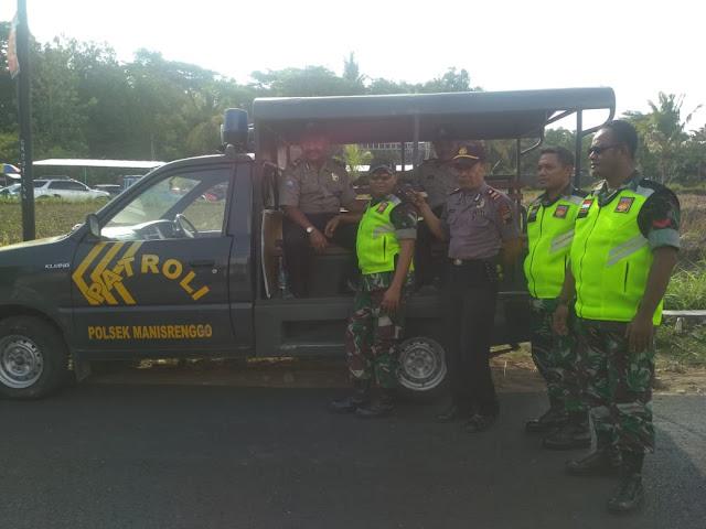 Sinergitas TNI - Polri Gelar Patroli Bersama