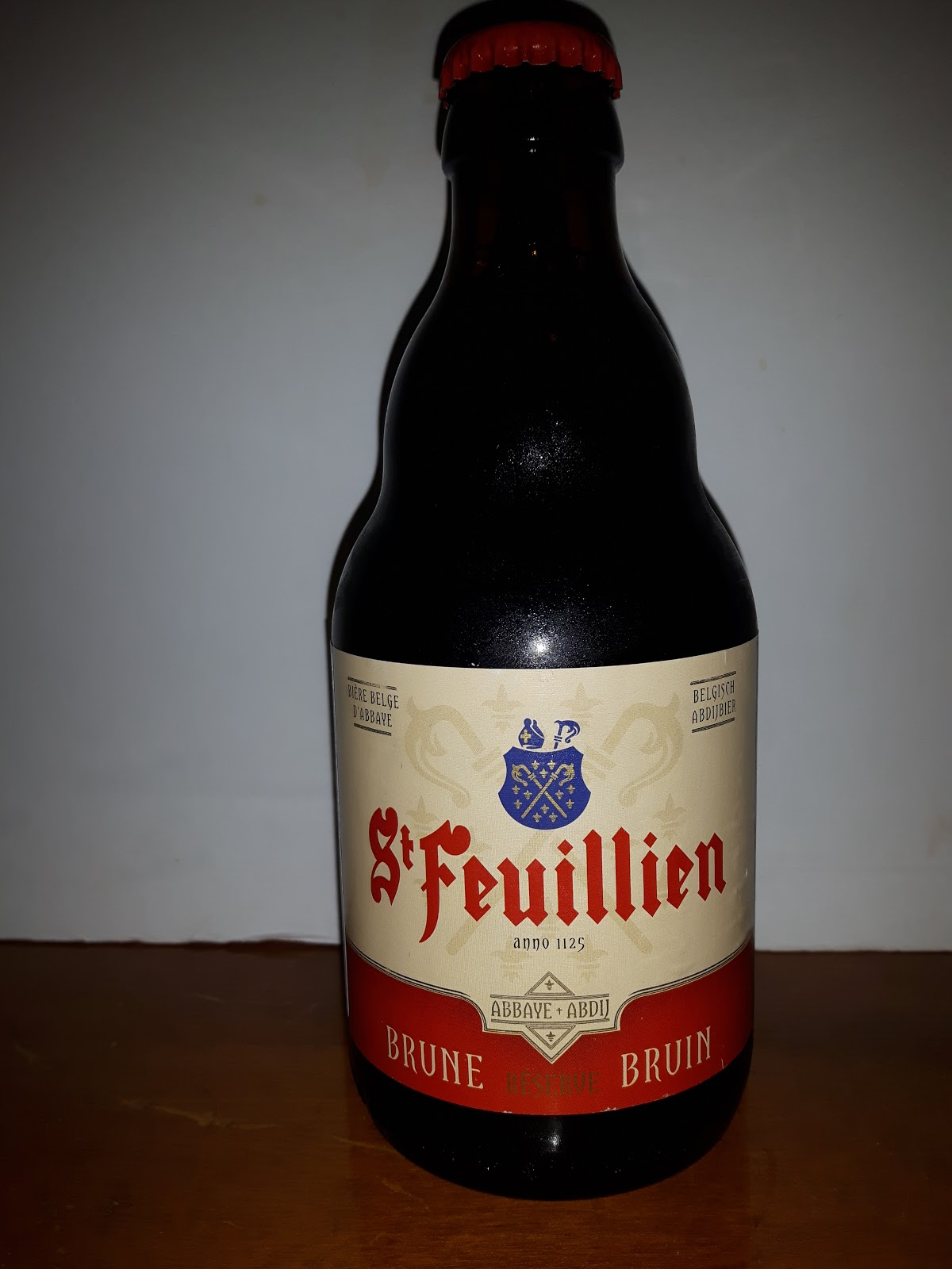 a793e581b0d93 Off to Belgium tonight for this high alcohol Abbey Dubbel from St.  Feuillien in Roeulx. Belgiam beers seems to be synonymous with Christmas  especially here ...