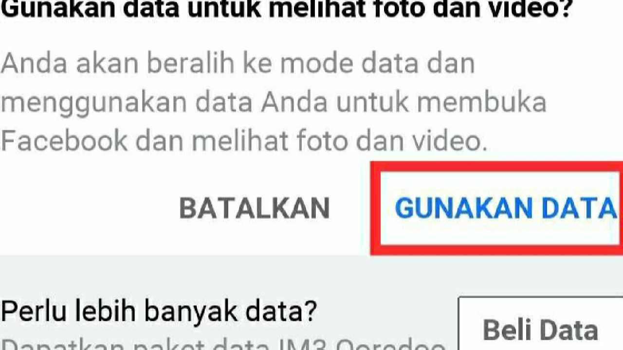 Facebook Gratis Tanpa data login