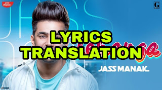 Lehenga Lyrics | Translation | in English/Hindi - Jass Manak