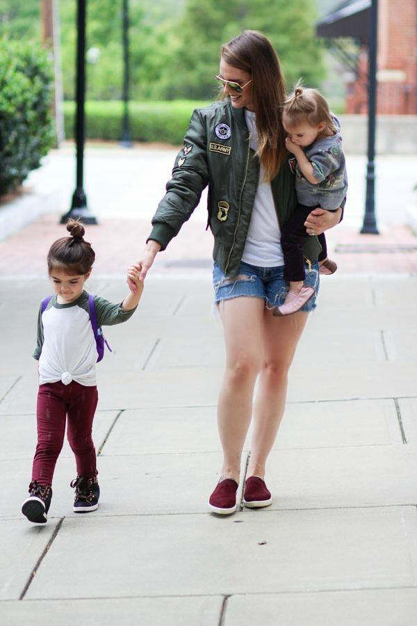Mom Style- Bomber Jackets