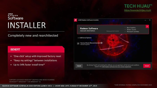 Tech Hijau™ — AMD Radeon Software Adrenalin 2020 Edition - Installer