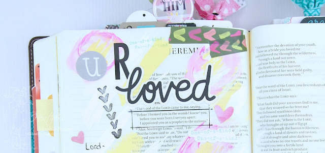 Heather's Hobbie Haven - Illustrated Faith - This is Love - Jeremiah 1:5