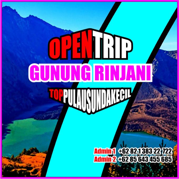 Open Trip 2021 Gunung Rinjani Jalur Pendakian Via Sembalu - Senaru - Torean