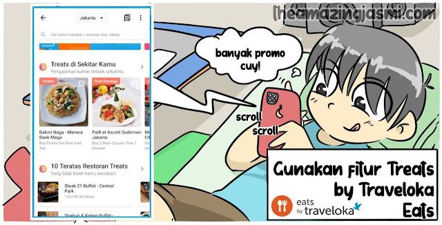 Hangout Hemat Anak Rantau dengan Treat by Traveloka Eats
