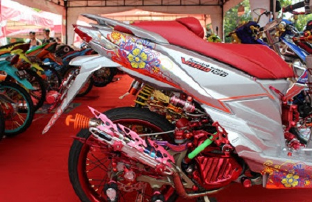 Modifikasi Honda Varios 150
