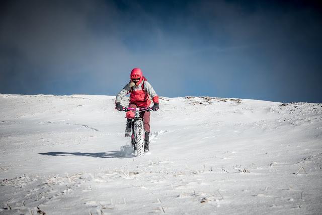 Fatbike Tour im Schnee Steinach am Brenner Blaser MTB