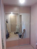 Двери зеркало+панель