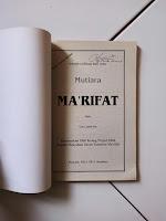 1 Buku Mutiara Marifat
