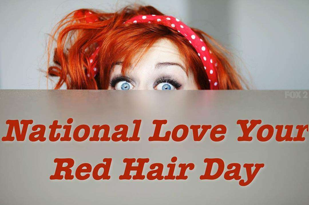 National Love Your Red Hair Day Wishes Awesome Picture