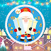 Santa Claus Clock Screensaver