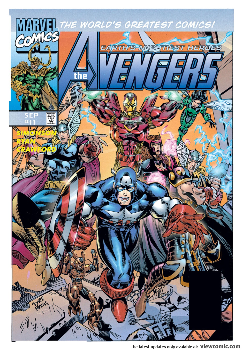 Avengers v2 011 (1997) | Vietcomic.net reading comics online for free