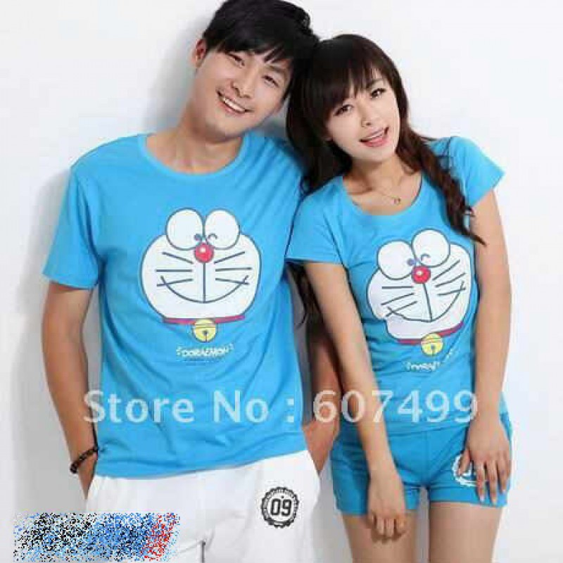 Jual Baju Couple Doraemon - 22195