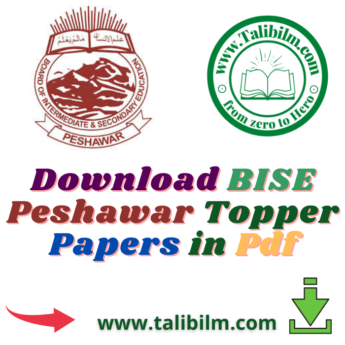 BISE Peshawar Toppers Papers-2019 | Download Pdf