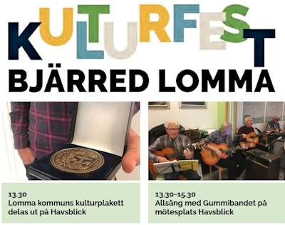 Kulturfest sprejar kultur över Lomma kommun