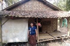 Suami Istri di Sidoko Gunung Kaler ini Tinggal di Gubuk Reot, Tak Dapat BPNT Maupun PKH