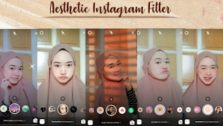 Filter instagram aesthetic, here's how to get them