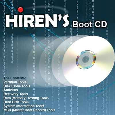 Download Hiren's BootCD 15.1,hirens boot disk