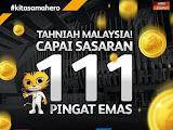 Tahniah Malaysia ! Capai Sasaran