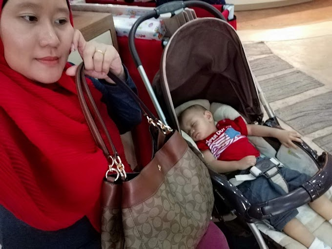 HANDBAG COACH HADIAH BIRTHDAY DARI SUAMI TERSAYANG