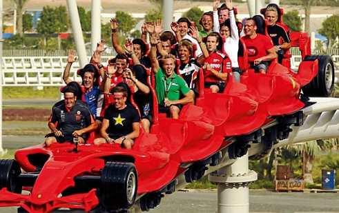 Roller Coasters Sangat Terpantas, Terpantang, Loopiest di Dunia