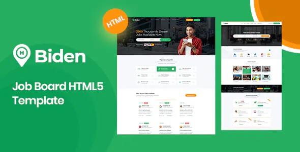 Best Job Board HTML5 Template