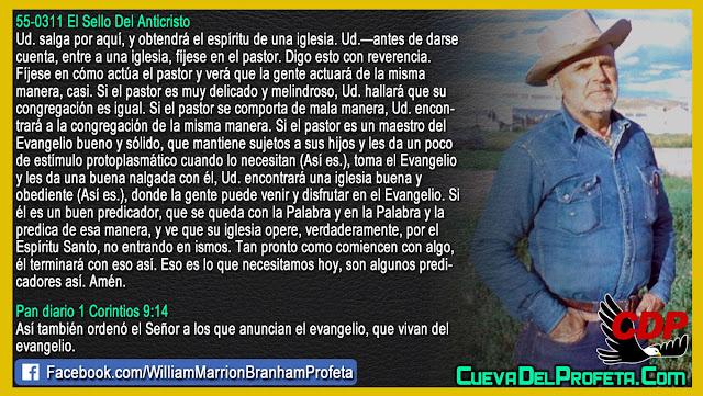 Un poco de estímulo protoplasmático - William Branham en Español