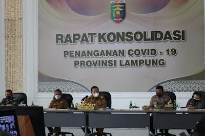 Gubernur Arinal Akan Tinjau Instalasi Penyedia Gas Oksigen