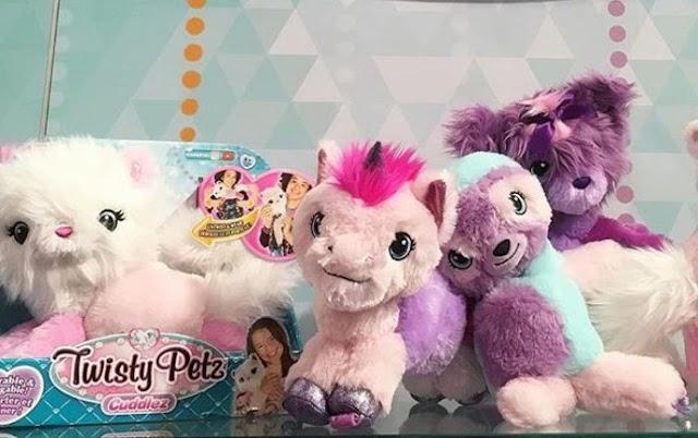 Мягкие игрушки Twisty Petz Cuddlez: новинка лета 2019