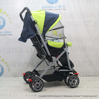 Creative Baby BS218 Classic Baby Stroller Green