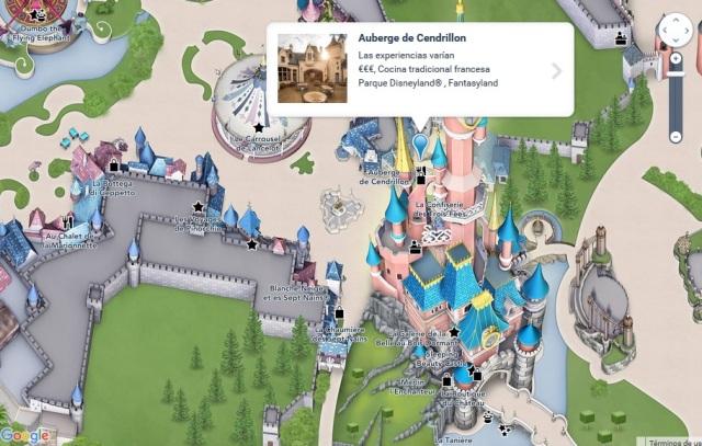 Localización de Auberge de Cendrillon